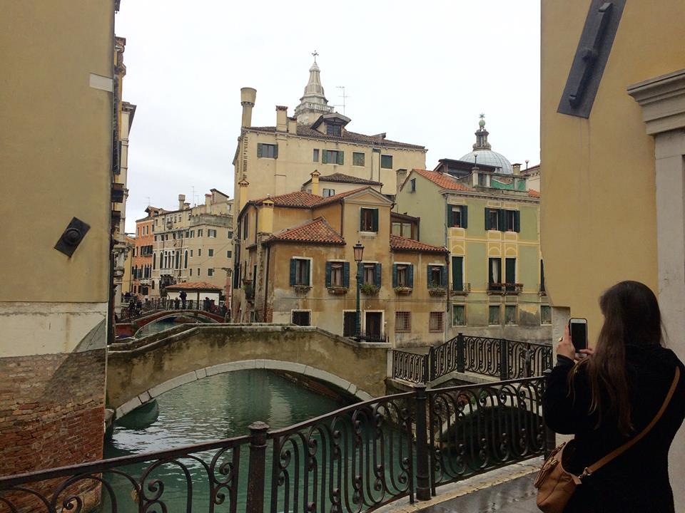 Exploring Venice!