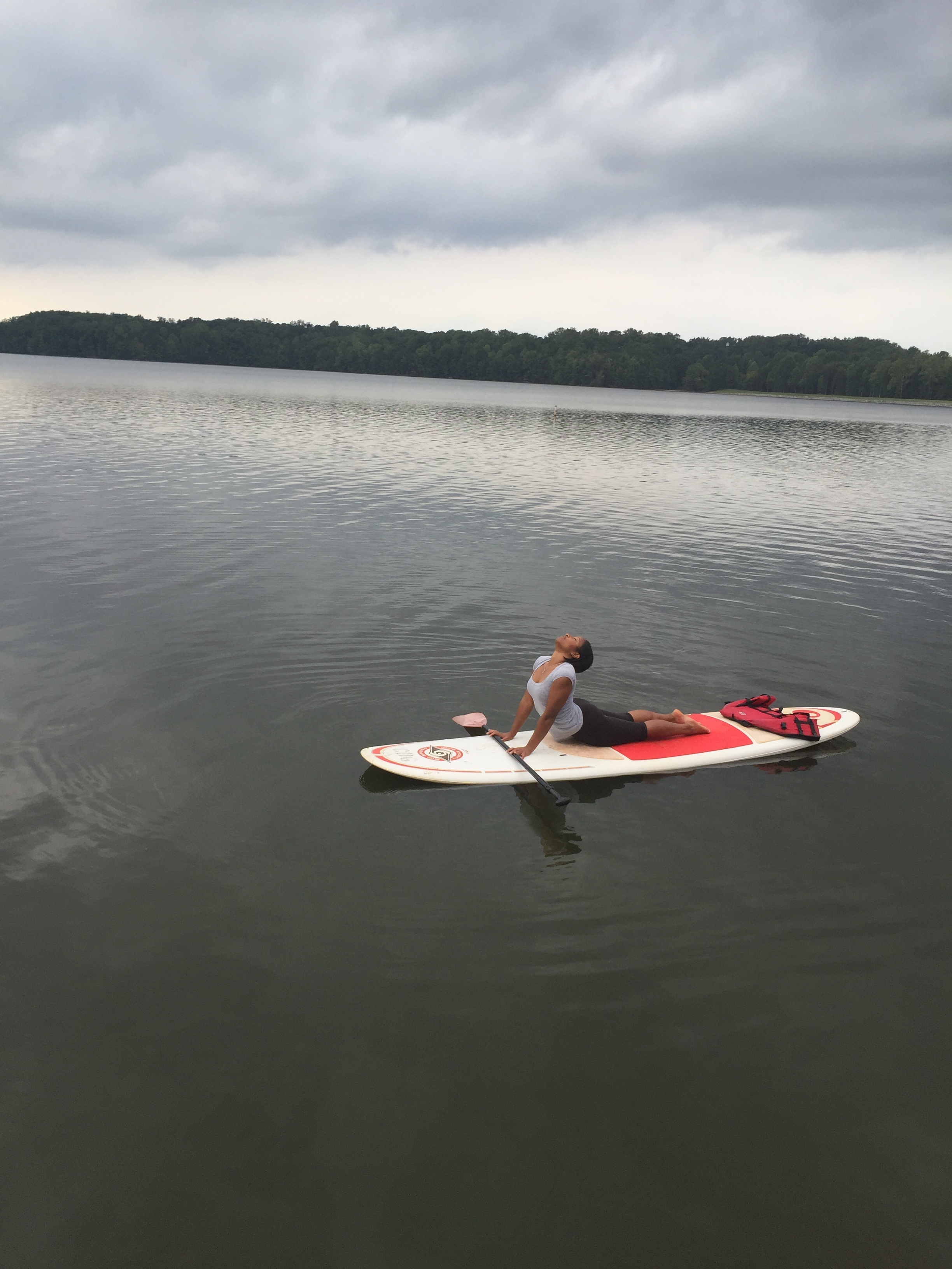 Stand-Up Paddleboarding at Lake Brandt