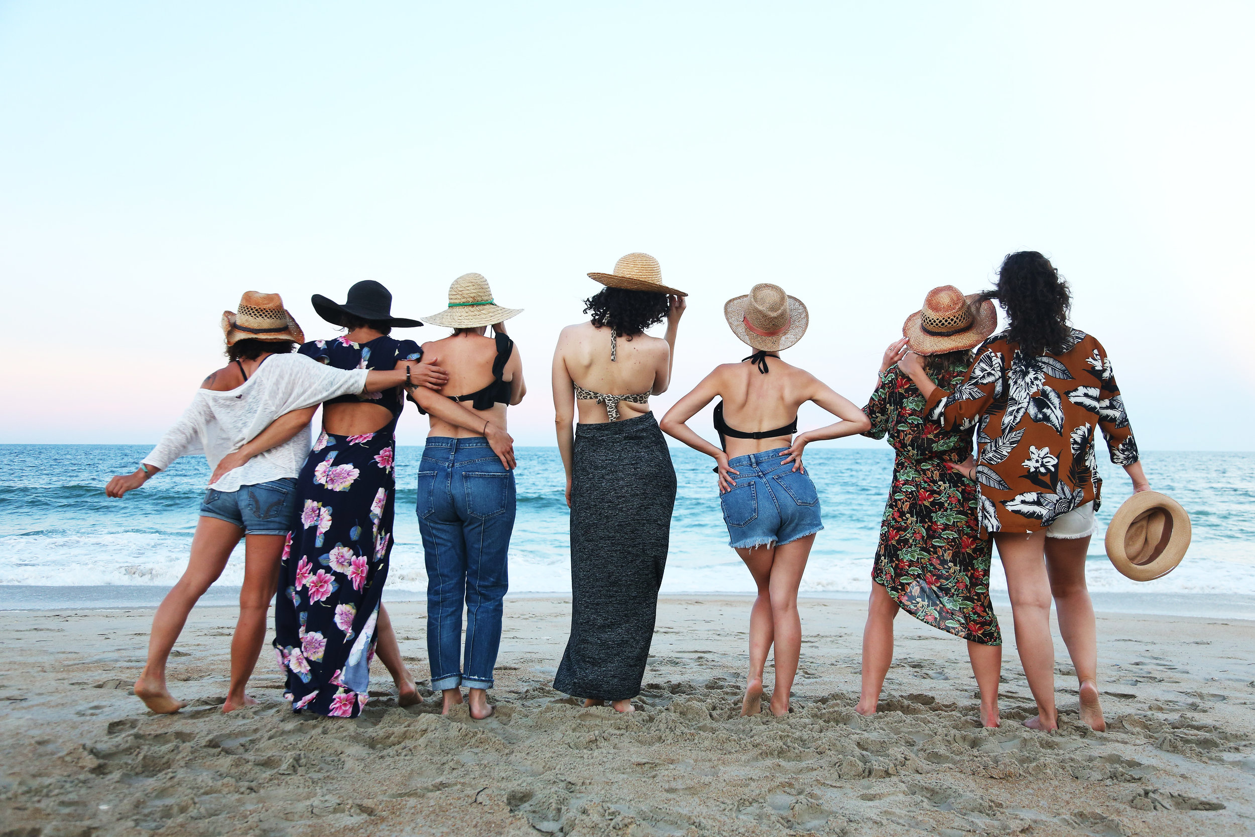 A final salute to summer on the Outer Banks with some of my favorite women.