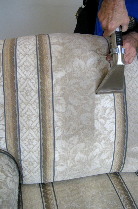 THIS LOVE SEAT BRIGHTENED UP TO ALMOST NEW CONDITION ONCE WE HAD THE CHANCE TO CLEAN IT. WOW!