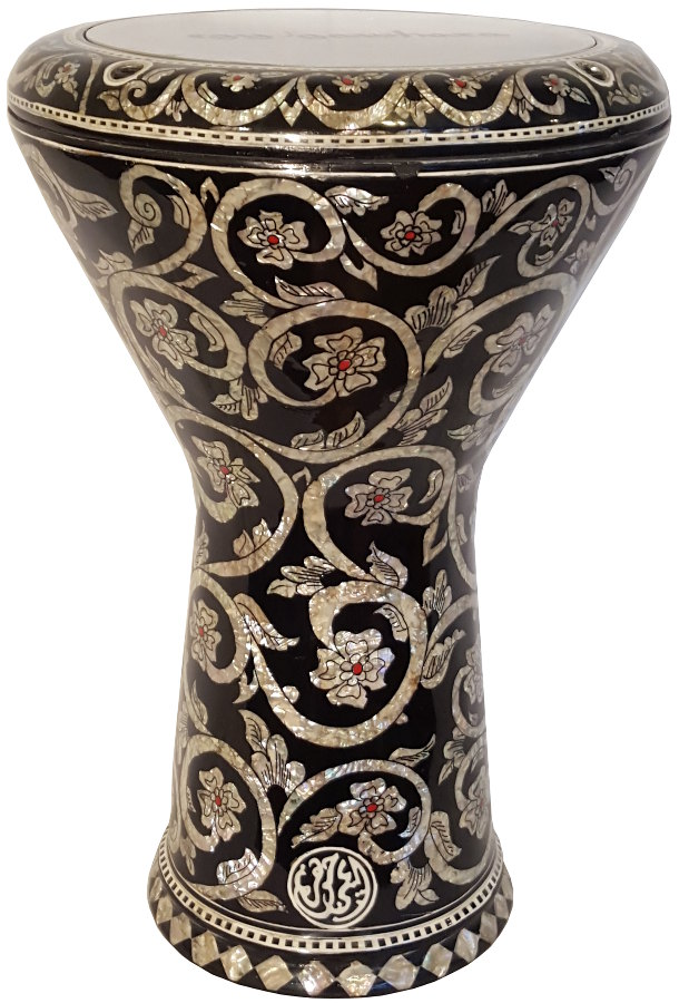 4 Peg (small) Inlaid Egyptian Darbuka