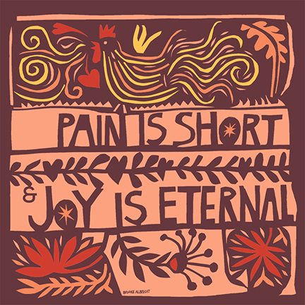 Pain is short and Joy is eternal