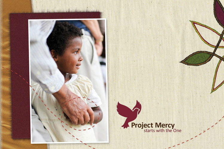 project mercy - Brochure Layout