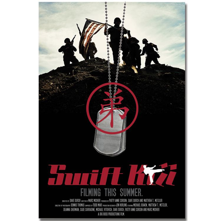 Swift kill - Indie Feature - Movie Title Art, Poster Art & Art Direction