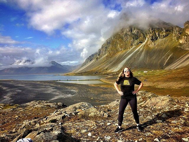 Our amazing friend @snora88 took the #hbfctraveltee to ICELAND!