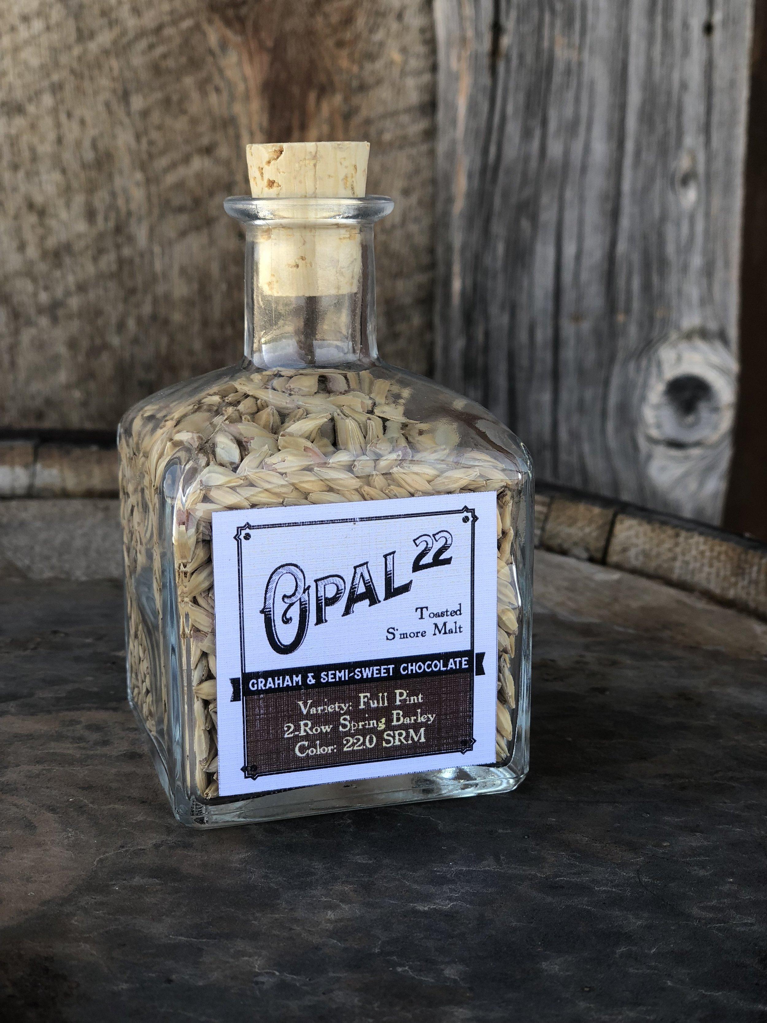 Opal 22 Graham and Cocoa Malt from Mecca Grade Estate Malt in Madras Oregon