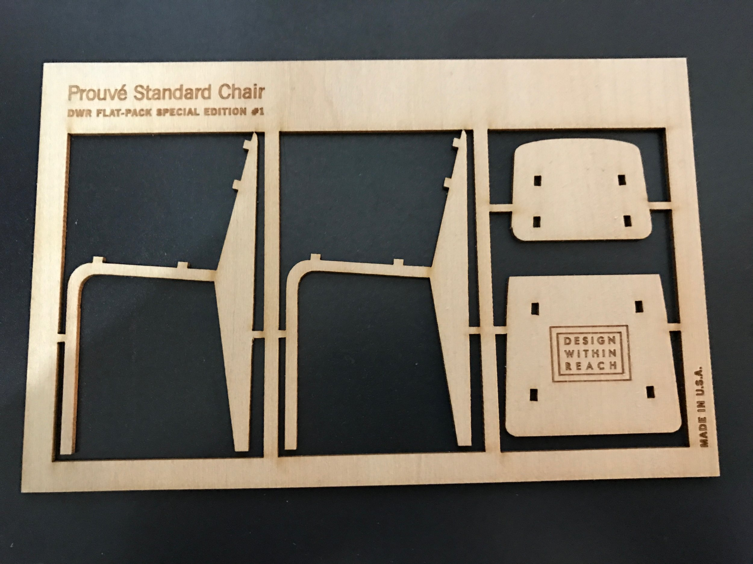 Etched & Cut Craft Ply for Design Within Reach