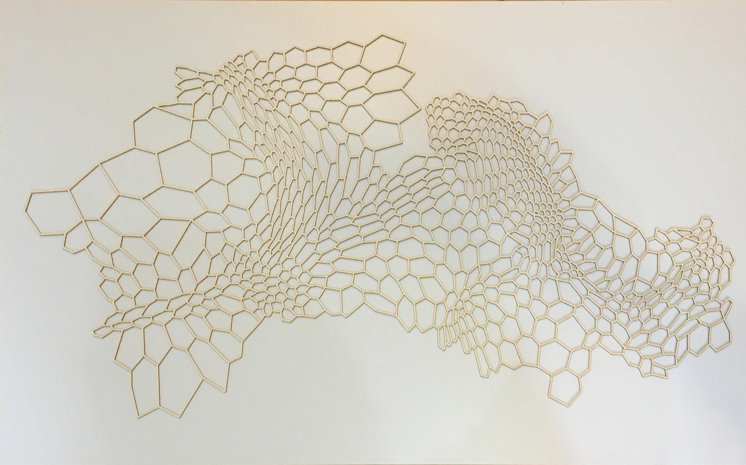Vector Cut Water Color Paper