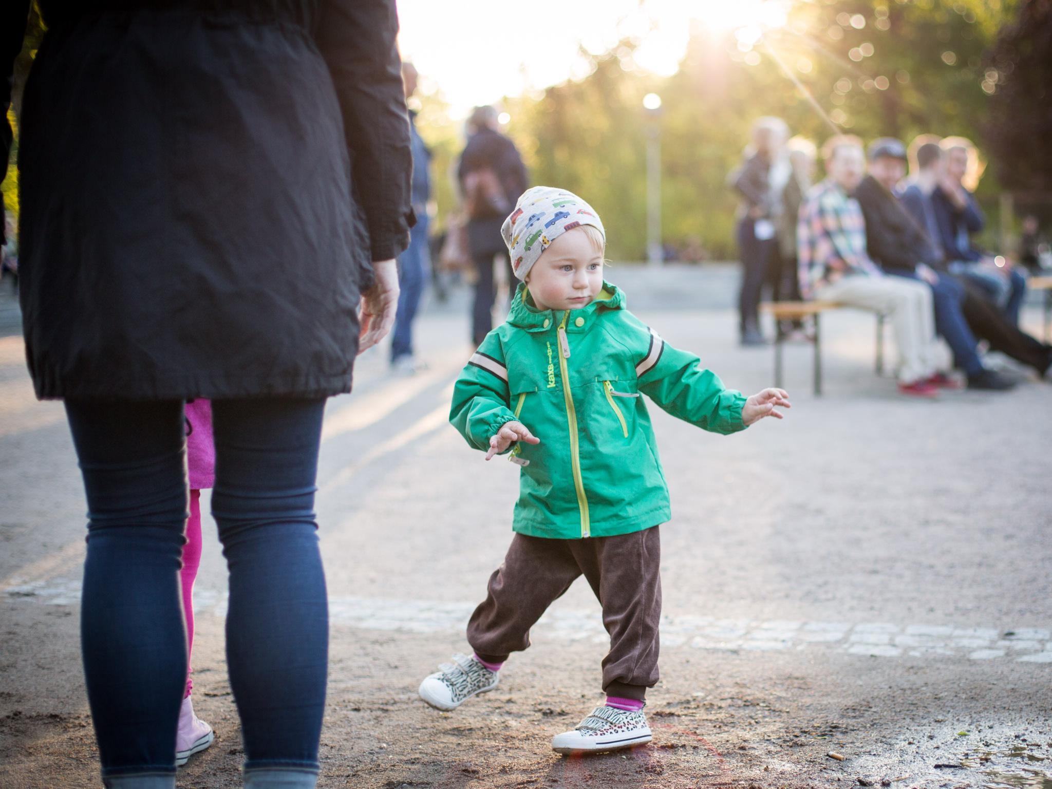 Dansa i parken
