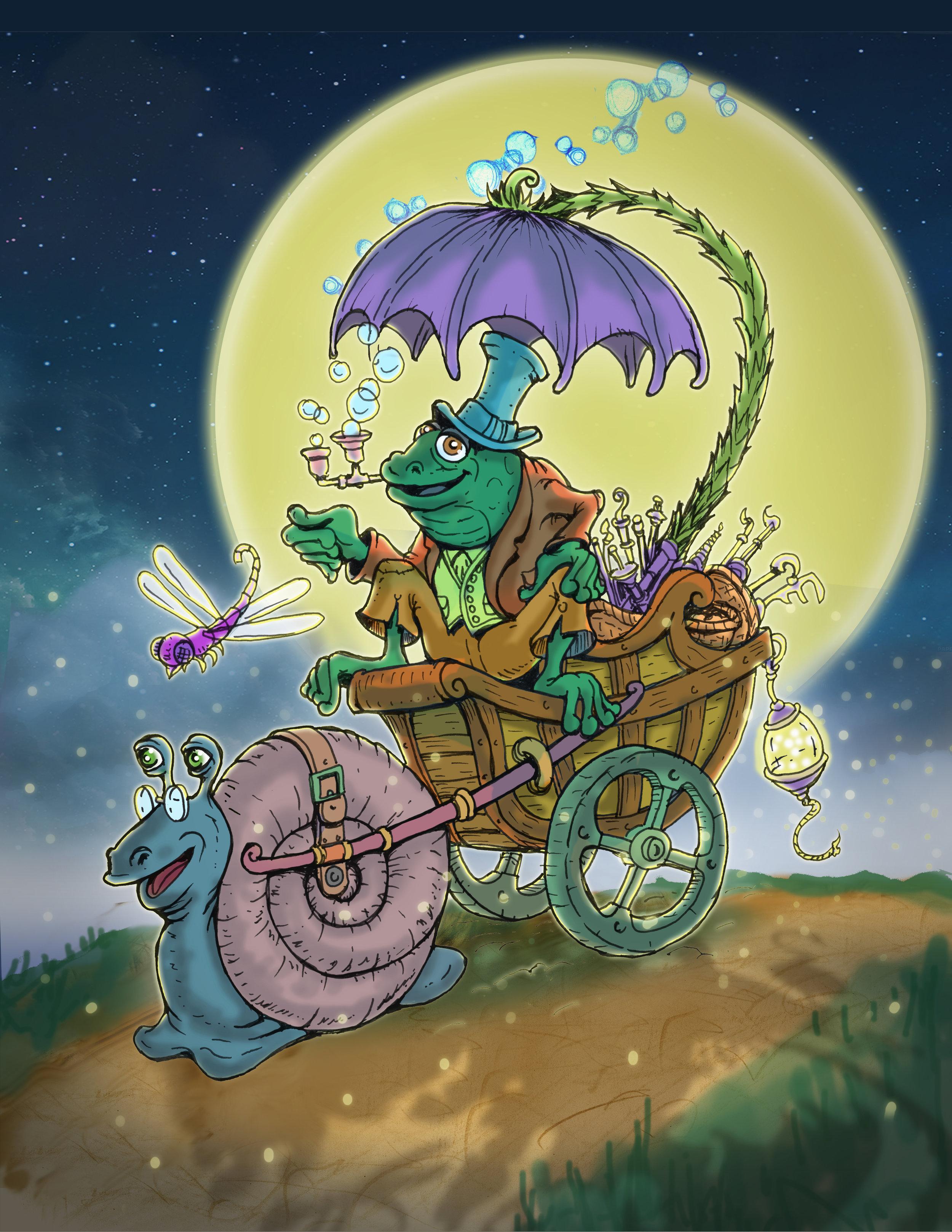 Snail Cart Frog Driver07.jpg