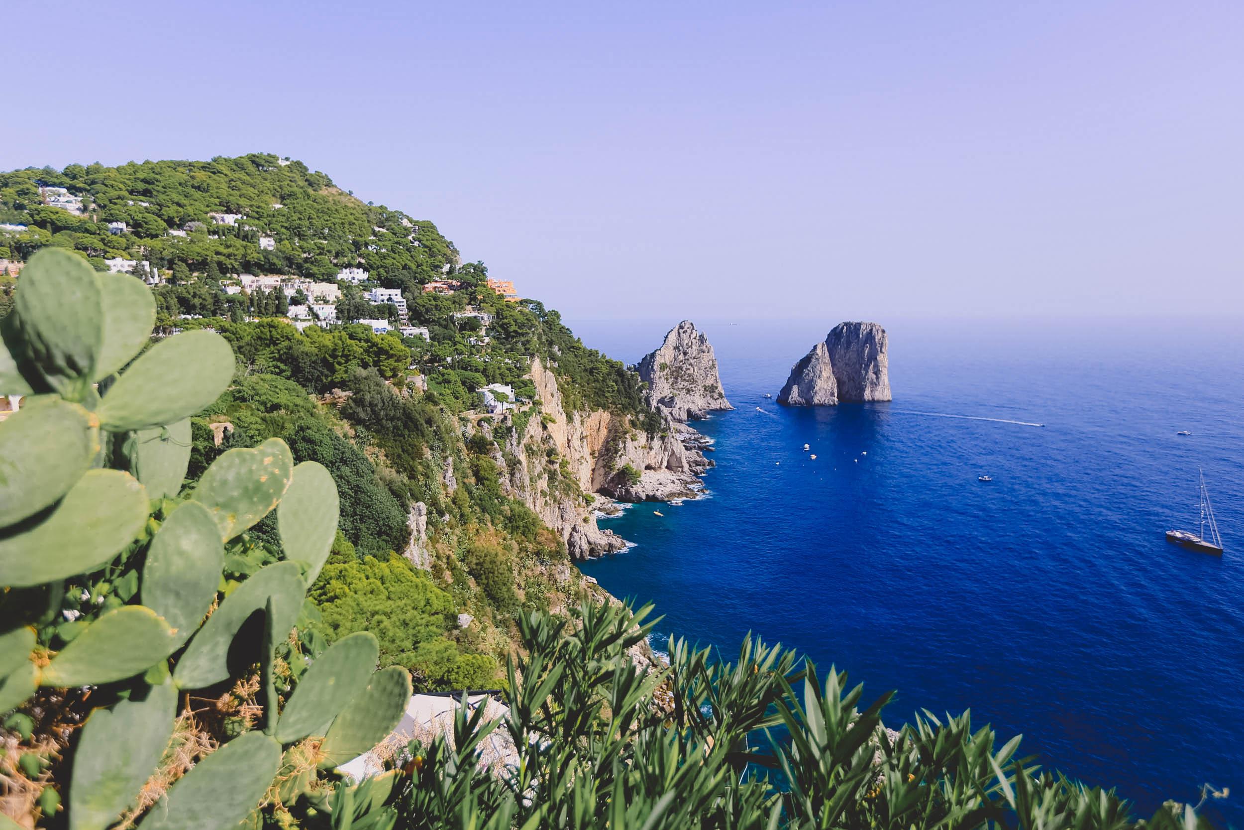 Gorgeous view from Giardini di Augusto