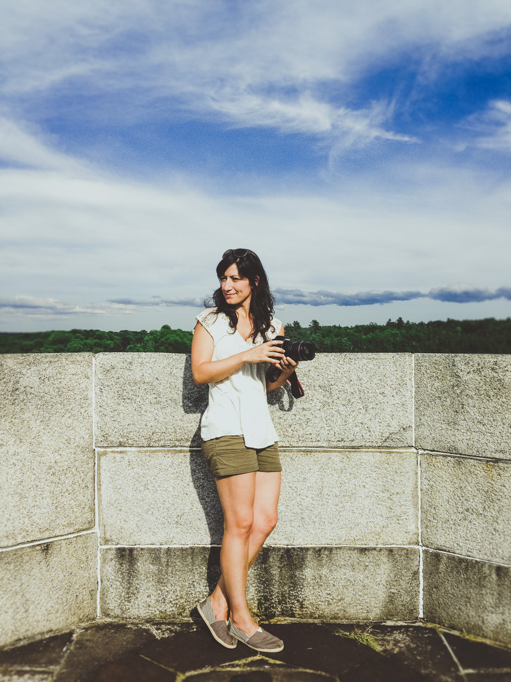 exploring Fort Knox before Carla and Erik's wedding // Unity, Maine