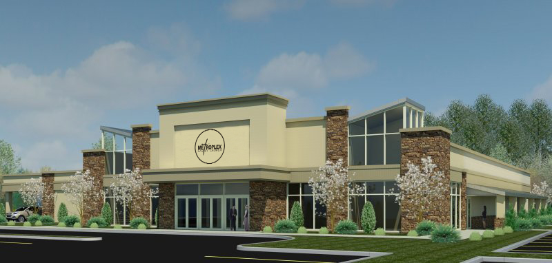 Future rendering of Metroplex Family Church