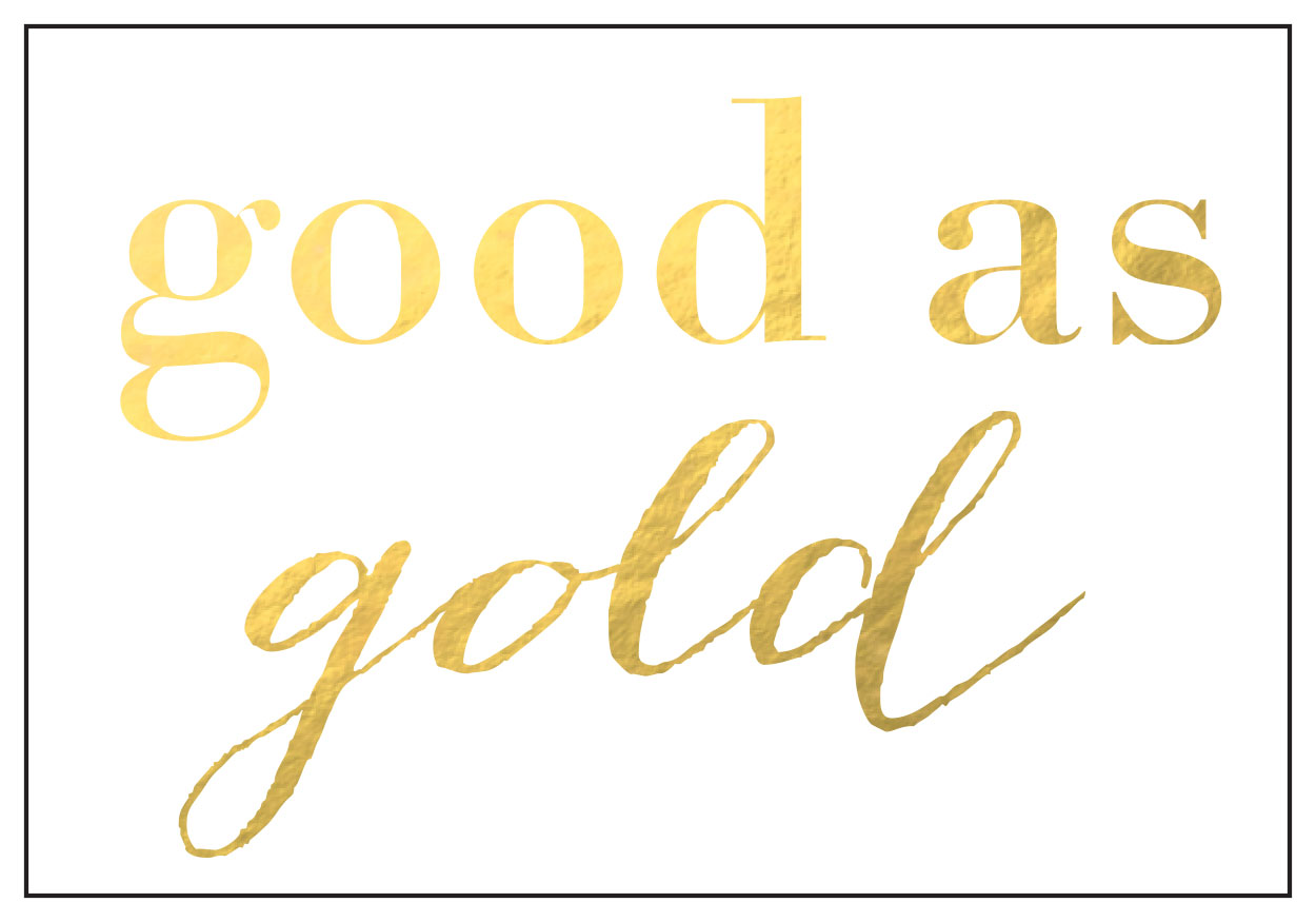 Sneak peak -- there will be beautiful gold things at Hotel Deca!