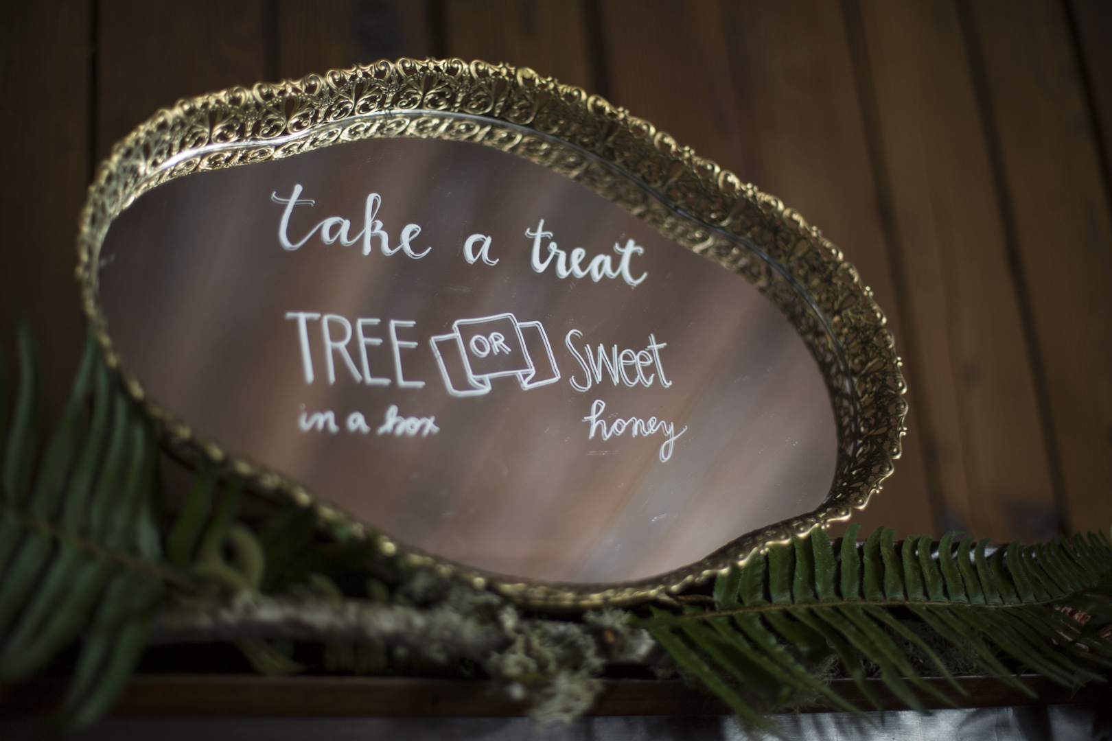 Take a Treat - Wedding Favor Sign