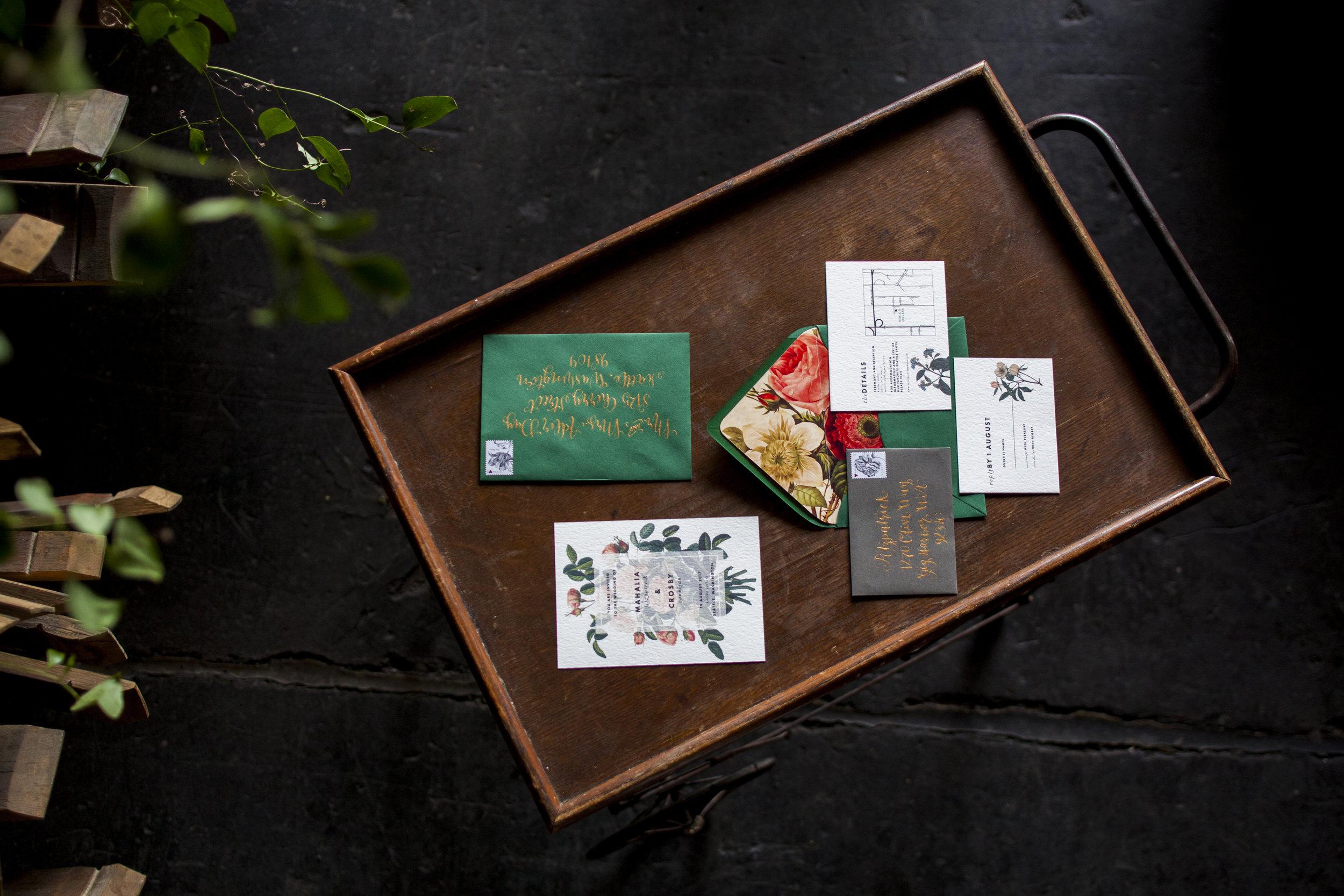 Old World Botanical Suite