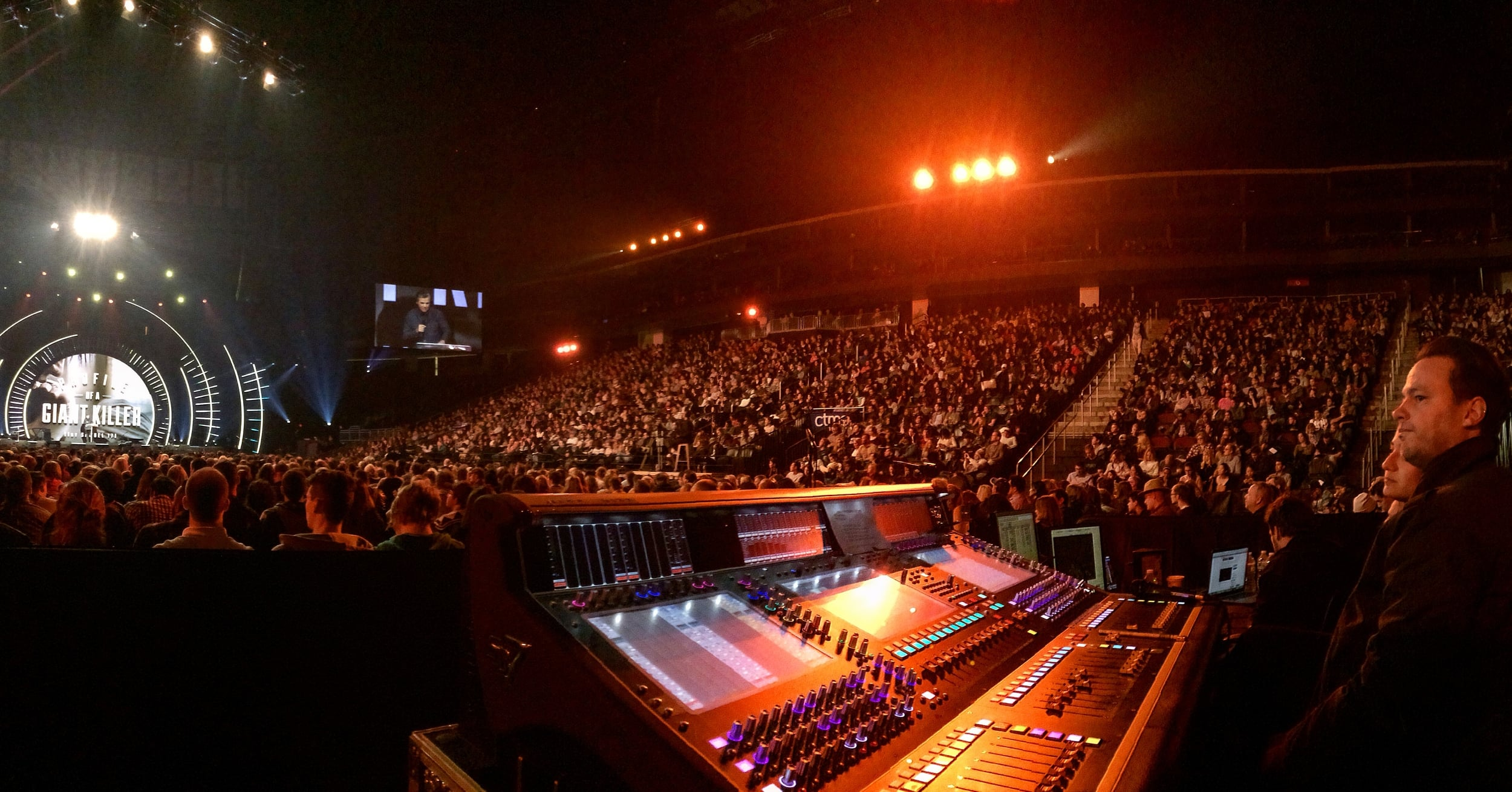 Hillsong NYC - Front of House Engineer for services at the Hammerstein Ballroom, Playstation Theatre, and Irving Plaza.