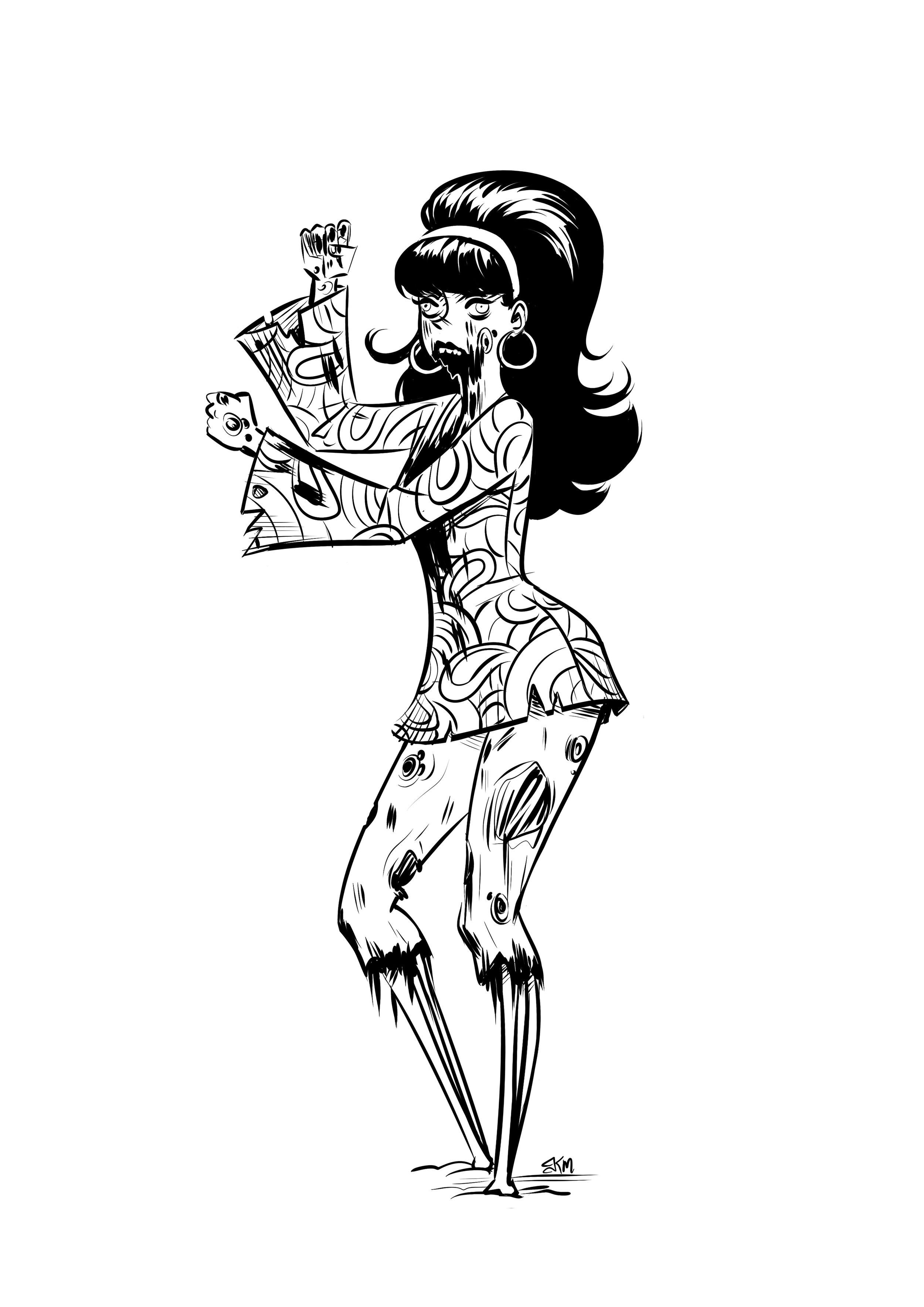 Gogo Dancer Zombie