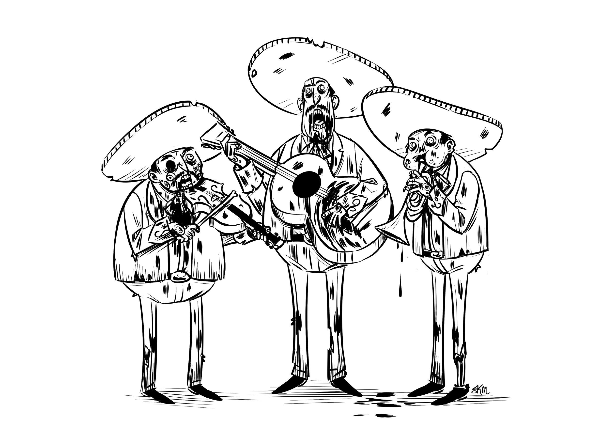 Mariachi Zombies