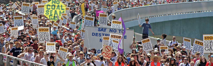 Coal Seam Gas protest, Illawarra, NSW. Image Source:  Stop CSG