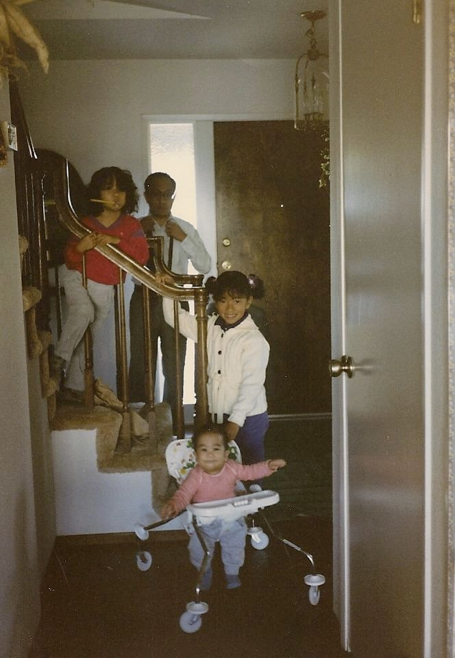 The stairs I mention in the podcast. - Circa 1985