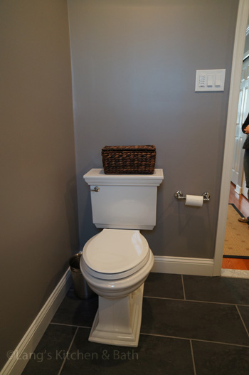 Bathroom design in Yardley, PA with two-piece toilet