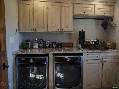 farmhouse laundry design