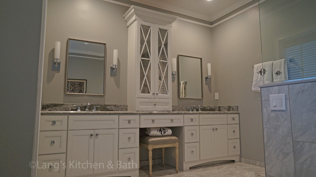 Master bath remodel in Newtown, PA