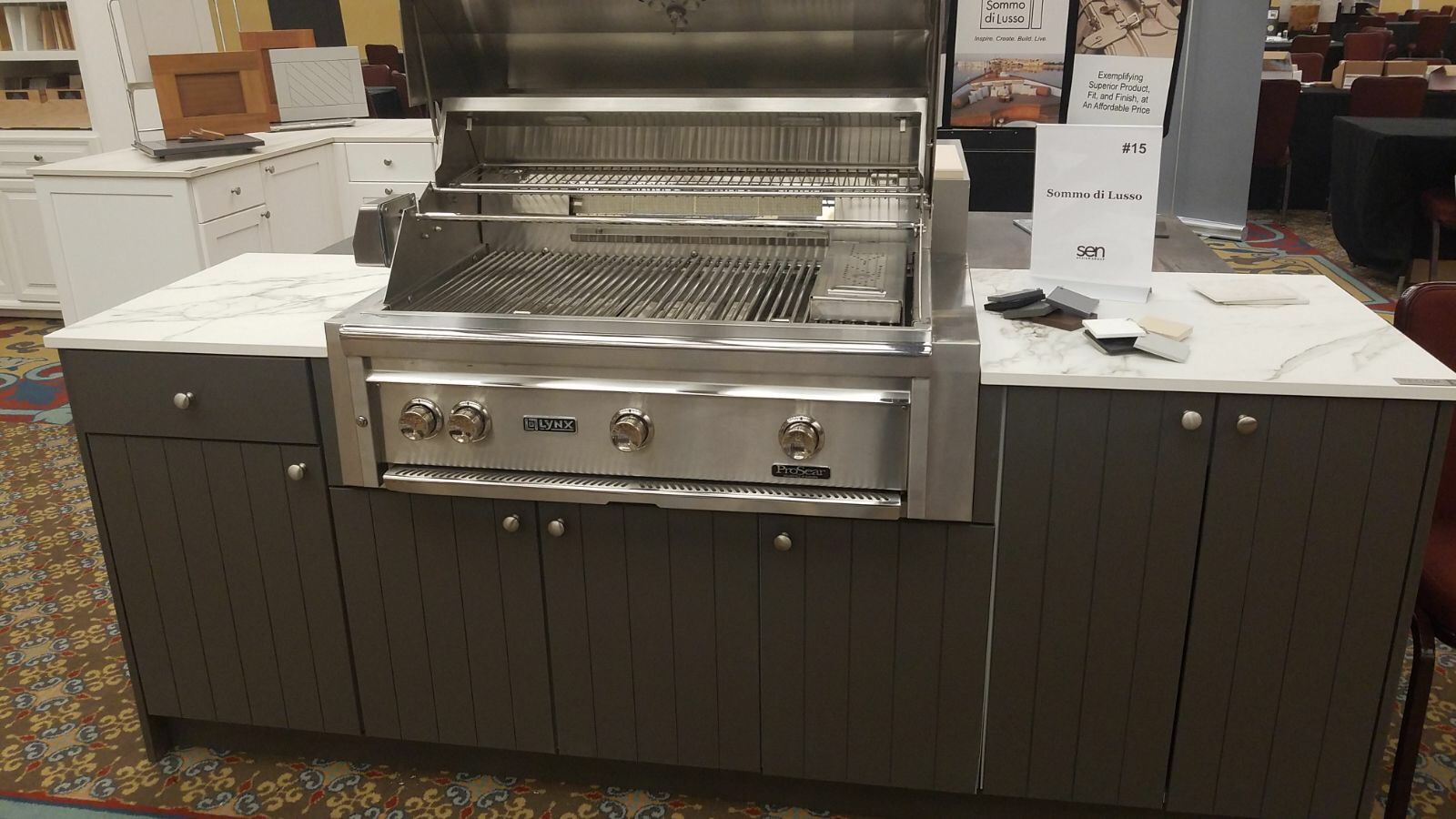 Sommo di Lusso by Atlantis Cabinets outdoor cabinetry at SEN Fall 2017 Conference