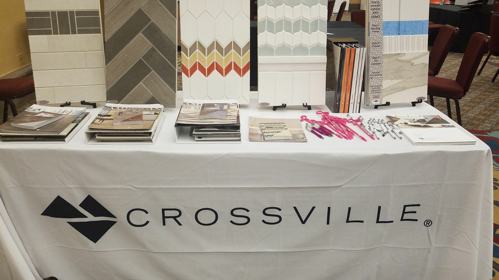 Crossville Tile display at SEN Fall 2017 Conference