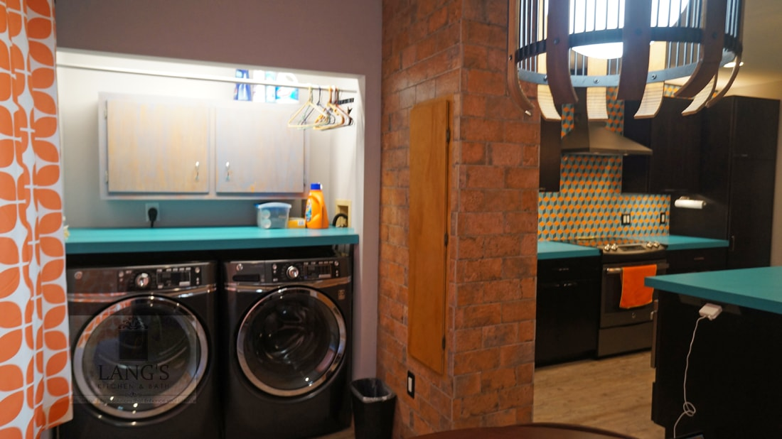 Laundry and kitchen design