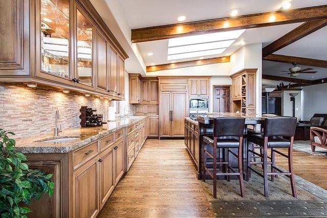 Traditional kitchen design