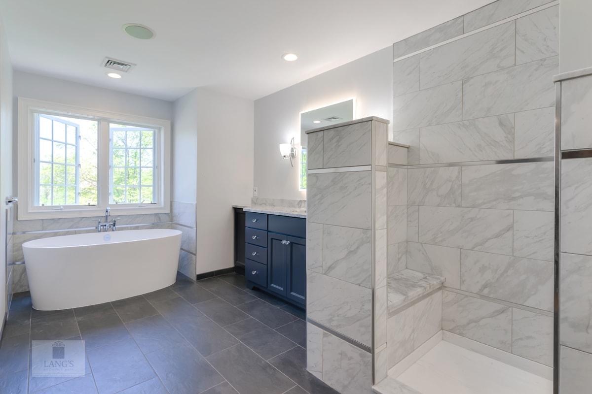 large master bathroom design