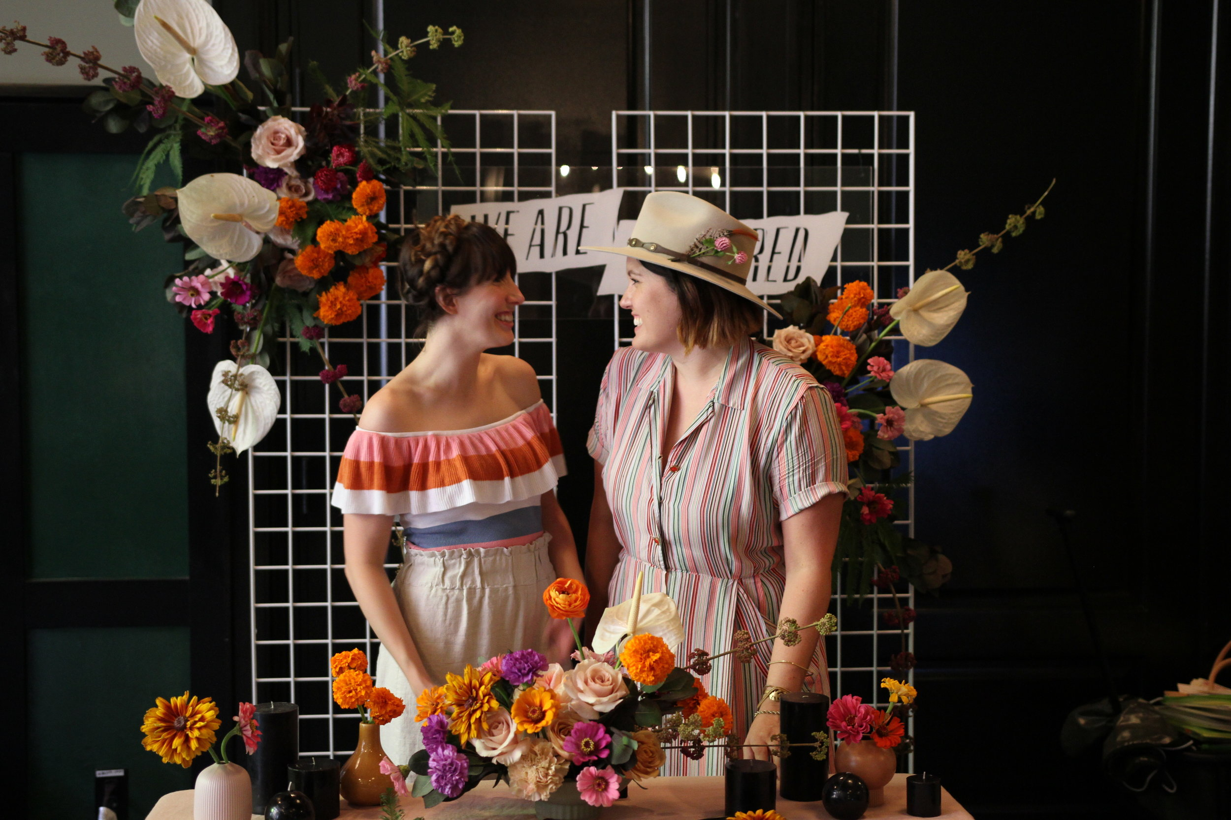 Elizabeth Prine (left) & Kayla Jobe (right)