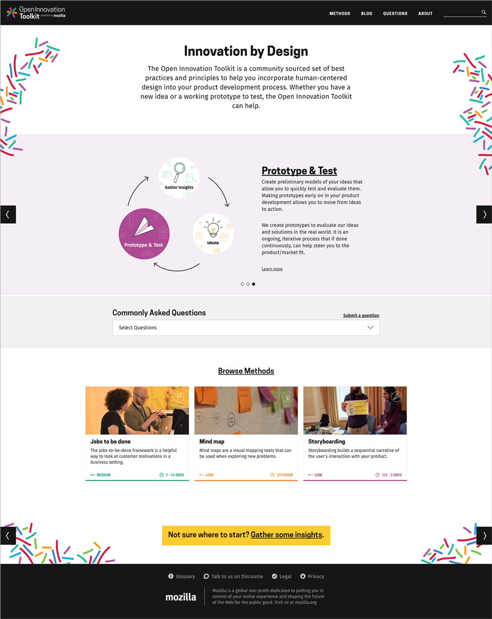 Open Innovation Toolkit - Prototype and Test