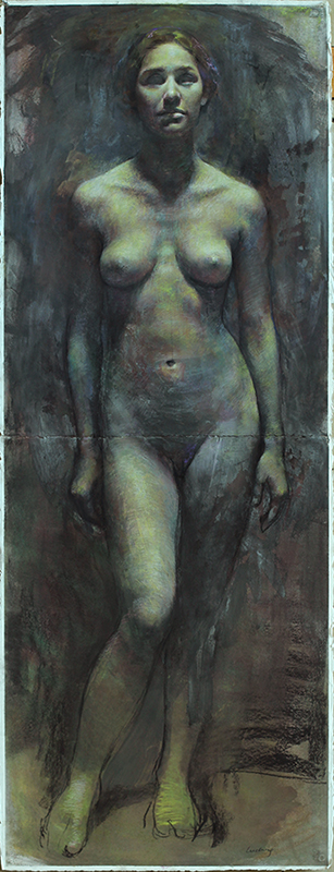 "Standing Woman  60"" x 22"""