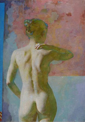 """Back View  40"""" x 28"""""""