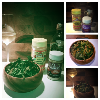 Kale Chips and White Wine
