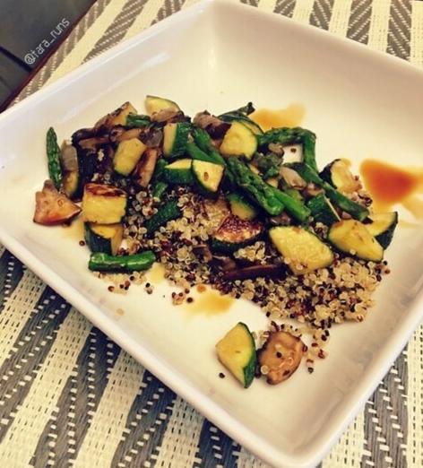 quinoa & vegetables