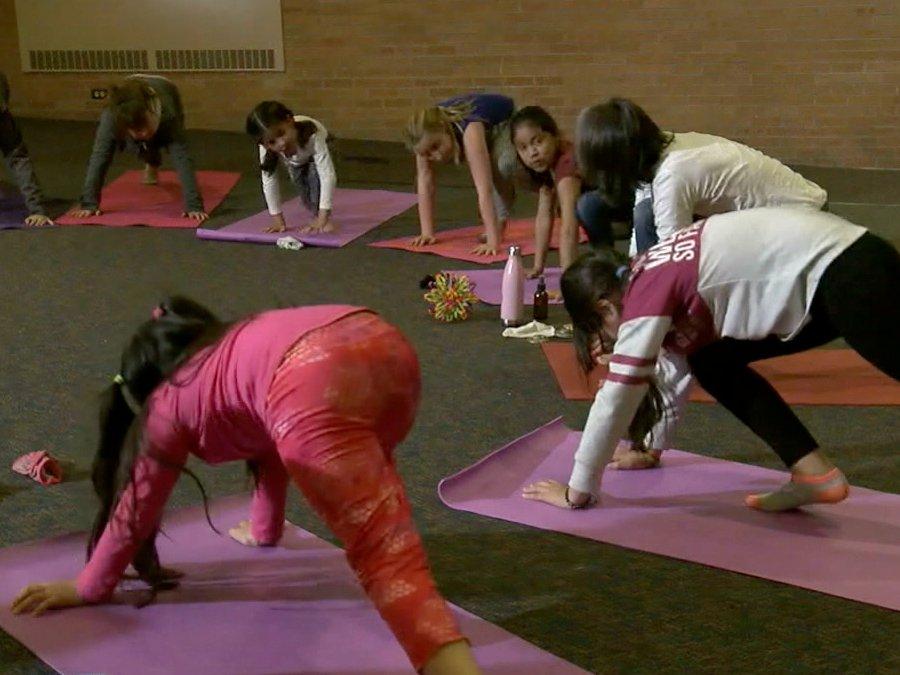 denver elementary school yoga