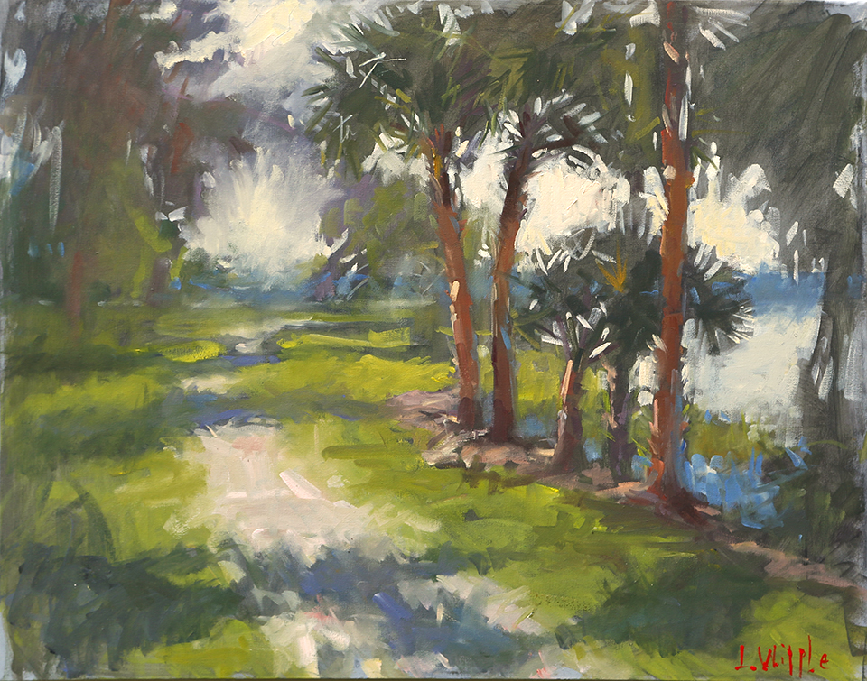 path with palms 24x28.jpg