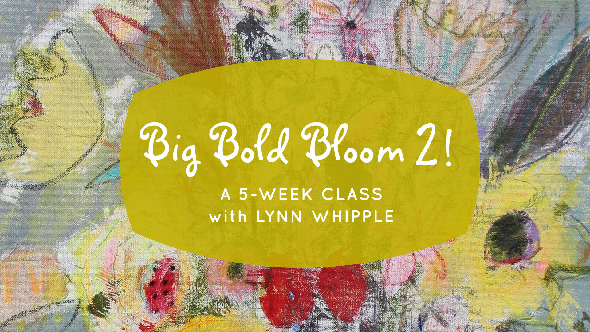 So exited to share new techniques and tools with you! We will celebrate FLOWERS with line, shape and mark! Drawing, painting, collage... all the way from tiny seed drawings in your sketchbook, to larger and larger...12x12, 11x14, 24x30 canvases. Our big finish will be a 36x48 painting! Come and celebrate your enormous instincts, play with color and shape.     This is a 5 week, 10 lesson online class!     Sign up today!