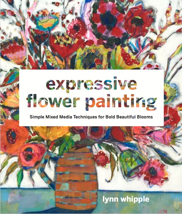 """Flowers are one of the most common and beloved subjects for artists. And for new artists, it's almost always one of the first things someone tries to paint--center, petals, stem, voila! The painting exercises and the process shown in this book have a loose, free, contemporary style--one that is very popular with painters and is widely seen in galleries, in shops, and even on clothing and home design goods. It's not intimidating, and yet the paintings are colorful, immediate, and joyful and speak to the artist's desire to play, be loose, and to create freely.  Lynn Whipple paints wildly and in small to large formats with a combination of acrylic paint, charcoal, and colorful soft pastel. She uses fresh, abundant flower arrangements as her muse. Expressive Flower Painting presents a range of creative painting exercises that help readers develop vibrant nature paintings. This exciting book is an in-depth expansion of Lynn's class called Big Bold Bloom Wild Painting, with additional content. The book will cover mark making, layering techniques, how to do """"spin drawings,"""" color methods, painted backgrounds, working from life, and how to successfully combine a wide variety of media for the maximum effect."""