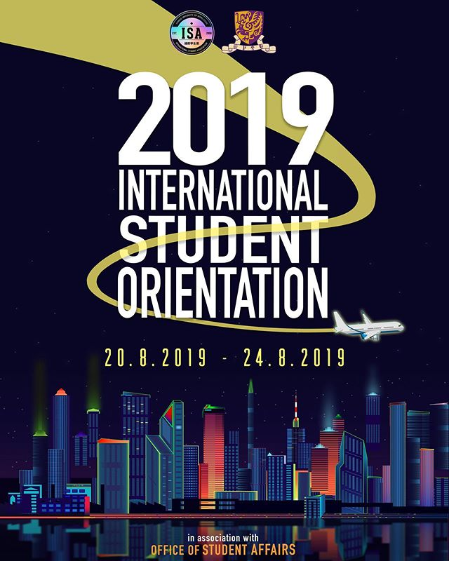 Freshies!! Are you guys ready for the BIGGEST international orientation camp yet ⁉️ . Only 10 days to go until the 10th Executive Committee of ISA-CUHK holds the 2019 International Student Orientation Camp. On behalf of all the international students of CUHK, we cannot wait to meet each and every one of our beloved incoming freshmen. . See you guys there! 🙌🏻