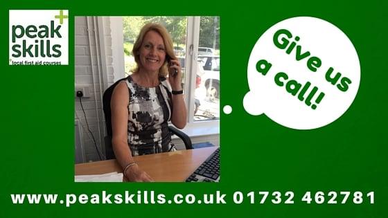 Peak Skills First Aid training Sevenoaks