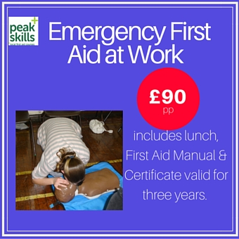 Emergency First Aid at Work Course