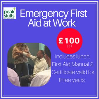 Emergency First Aid at Work Sevenoaks EFAW Sevenoaks