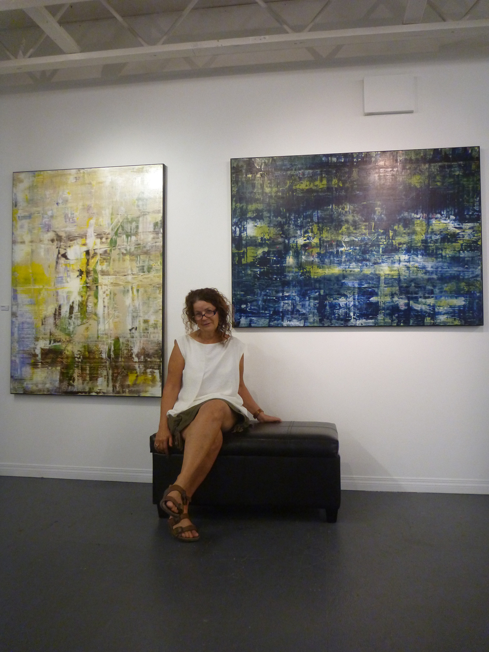 Explore (left and SOLD) and Reflect (right), 2013
