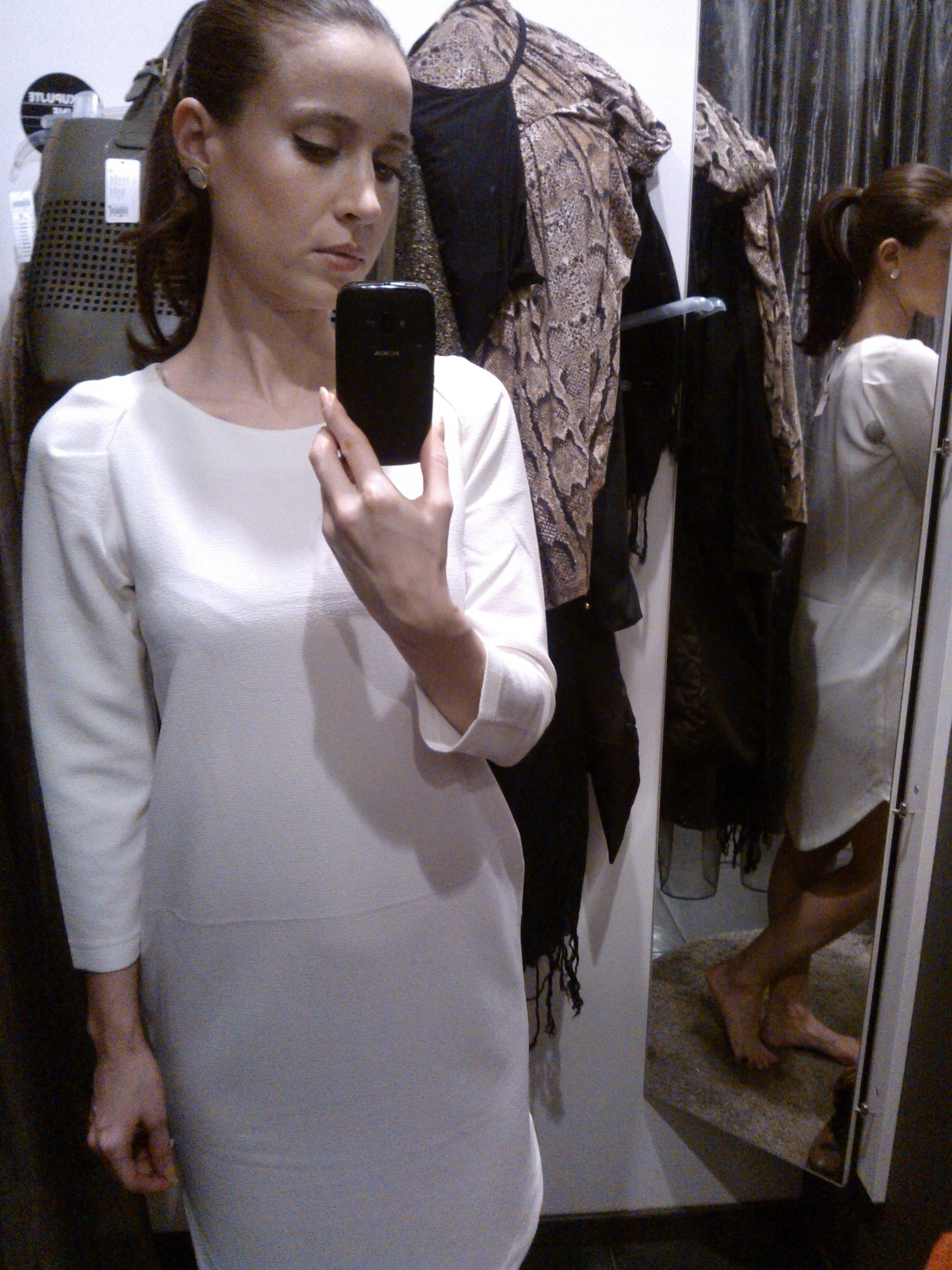 Biele šaty Lindex