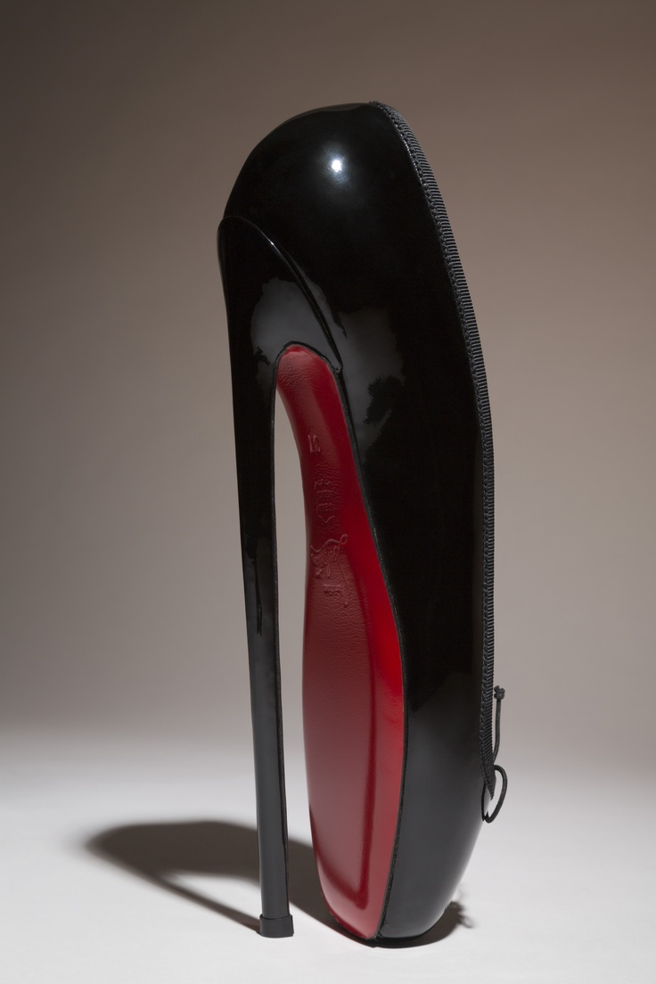 Ch. Louboutine - Fetish ballerina - The Museum at FIT Shoes